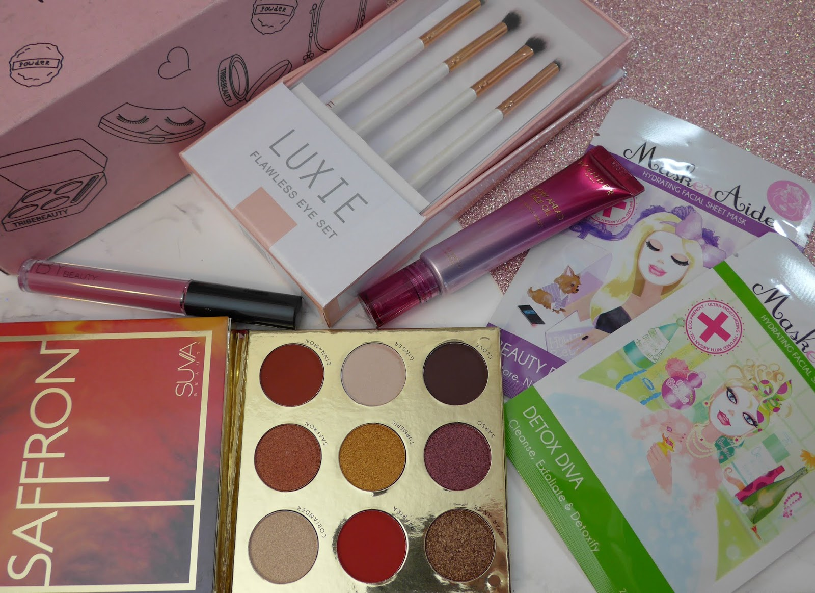 2019年2月Tribe Beauty Box-拆箱和评论
