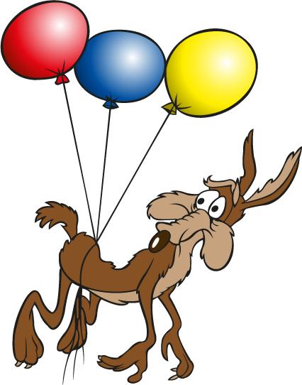 el coyote y el correcaminos vector