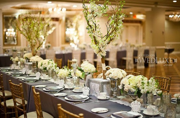 From i will to i do for Long table centerpieces