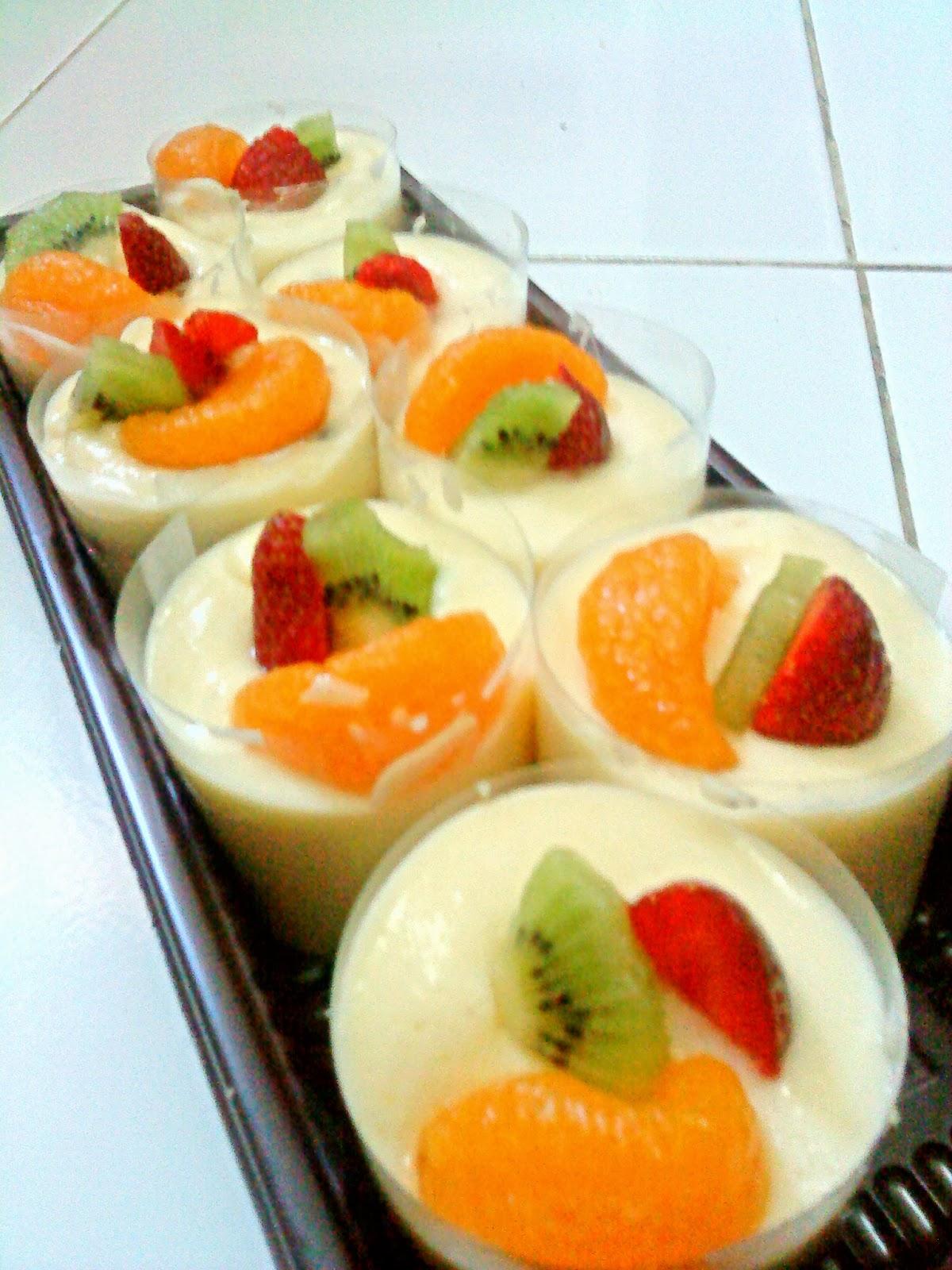 boredcake : learning and cooking myrecipe: Fruit Pudding ...