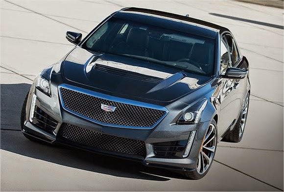 2016 Cadillac CTS V specs
