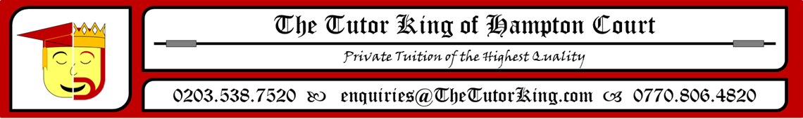 The Tutor King of Hampton Court
