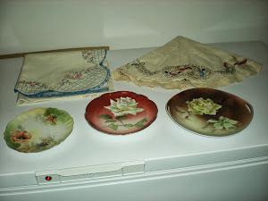 Vintage Plates and Linens
