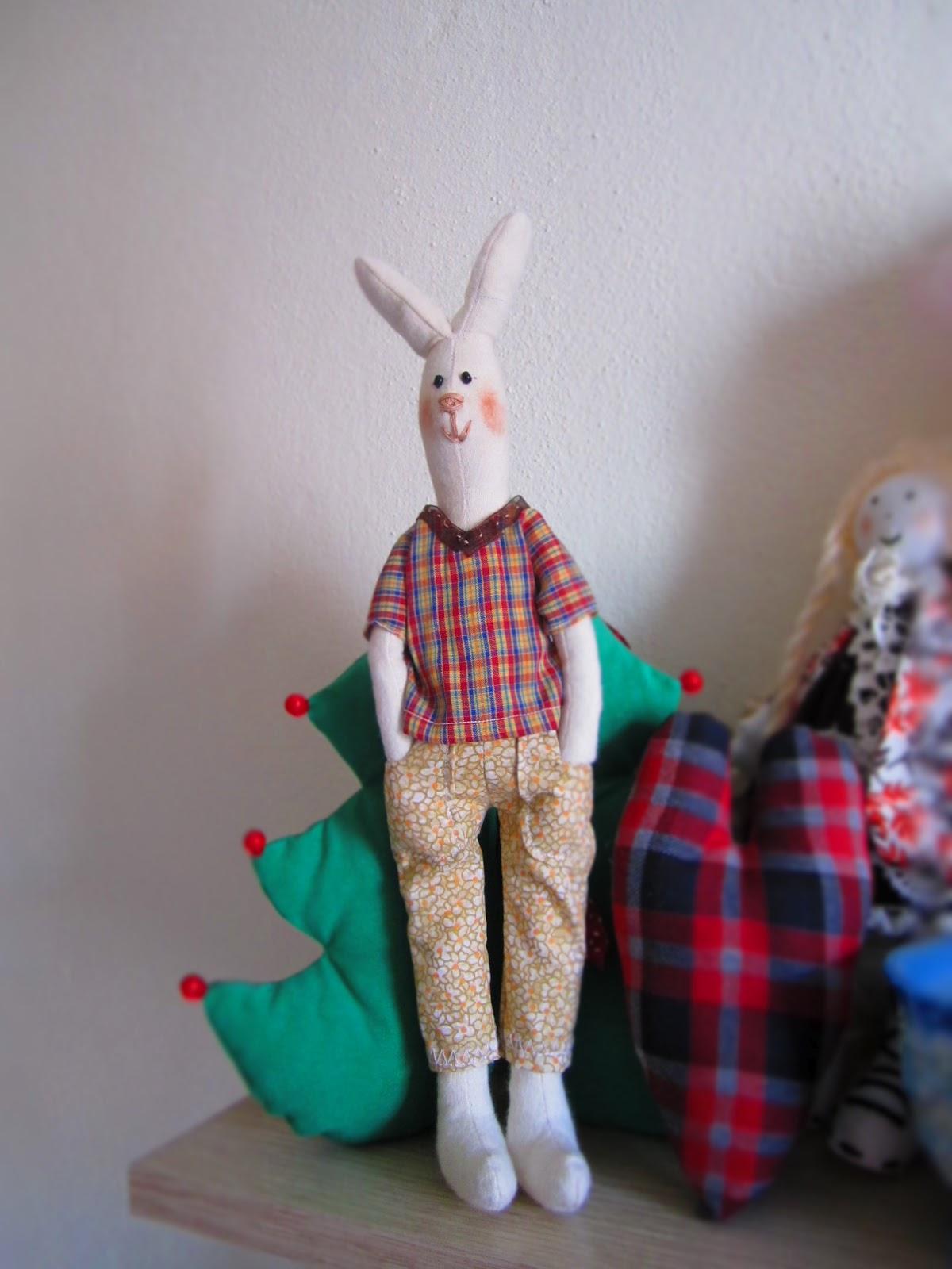 örgü tavşan yapımı