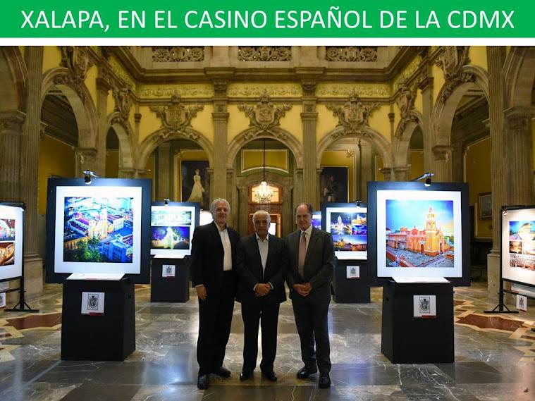 XALAPA, EN EL CASINO ESPAÑOL DE LA CDMX