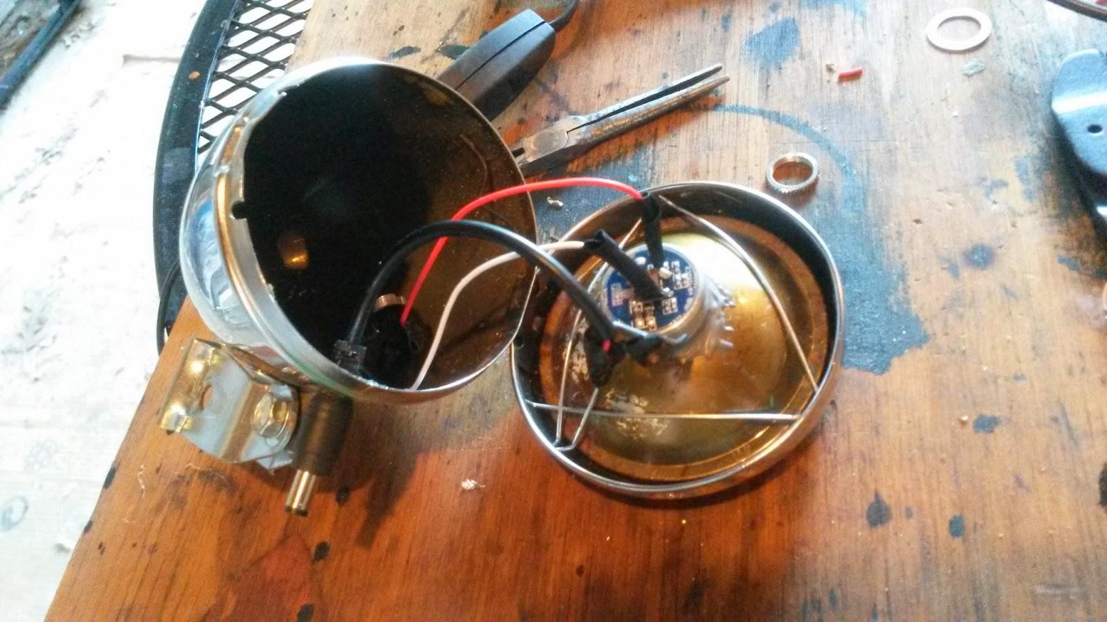 Headlight Switch Construction : Headlight led the easy way page rat rod bikes