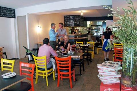 Poppet\'s Window: Rosa\'s Kitchen, Punch Lane, Melbourne