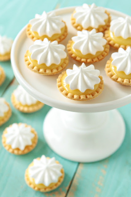 Pinterest cookbook: Mini Lemon Meringue Pies