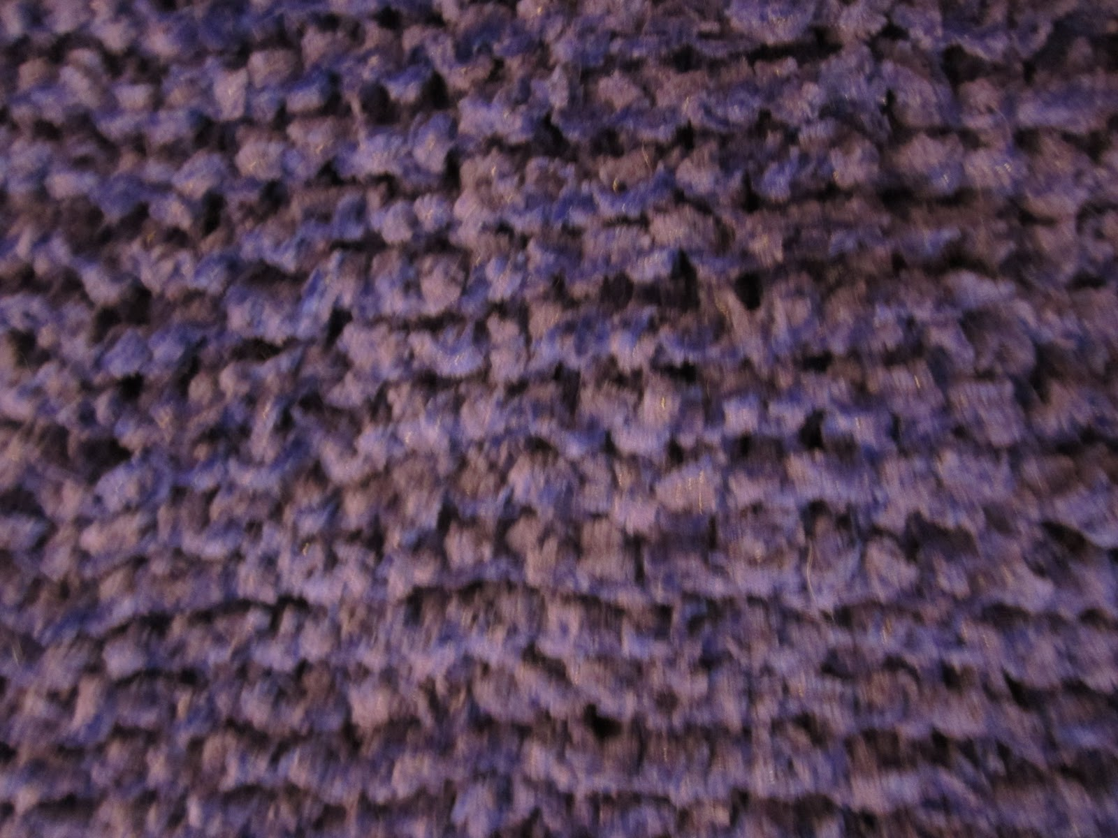Chenille Knitting Patterns : Busy Fingers: Purple Chenille Cowl