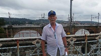 Demetrio Grijalba, presidente de la asociación de amigos del Camino de Santiago Irún-Bidasoa.