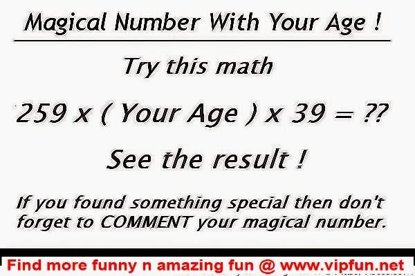 Age Math Magic