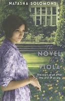 Cover of The Novel in the Viola by Natasha Solomons
