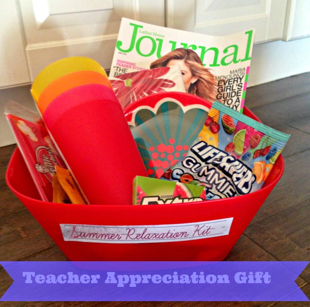 the sweetest memory  teacher appreciation gift