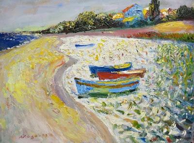 Адольф Лоза, Четыре лодки, 2003