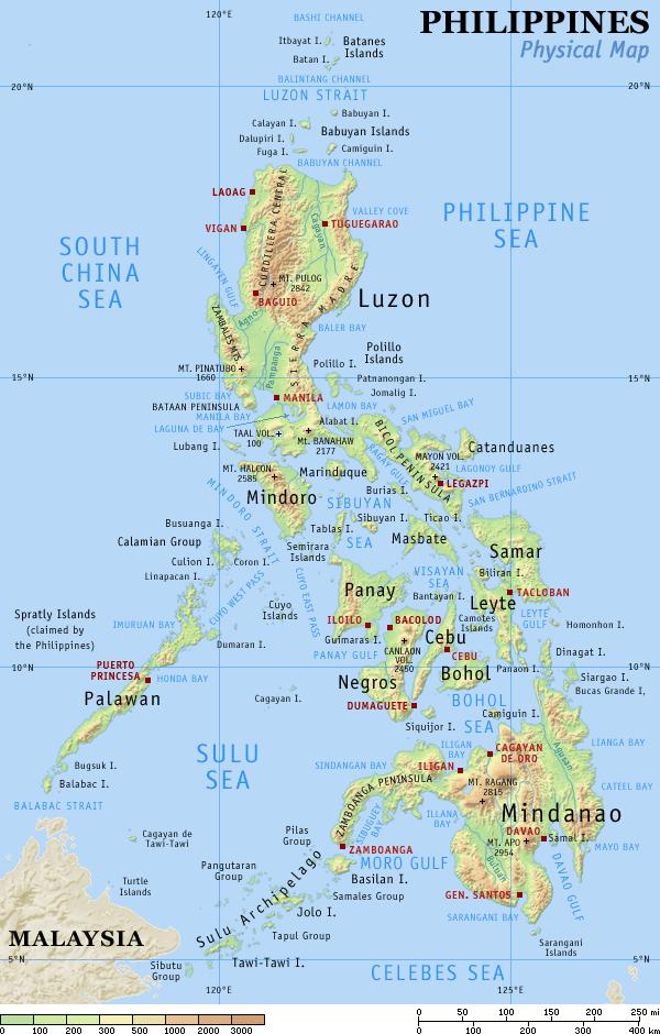 sprog filippinerne