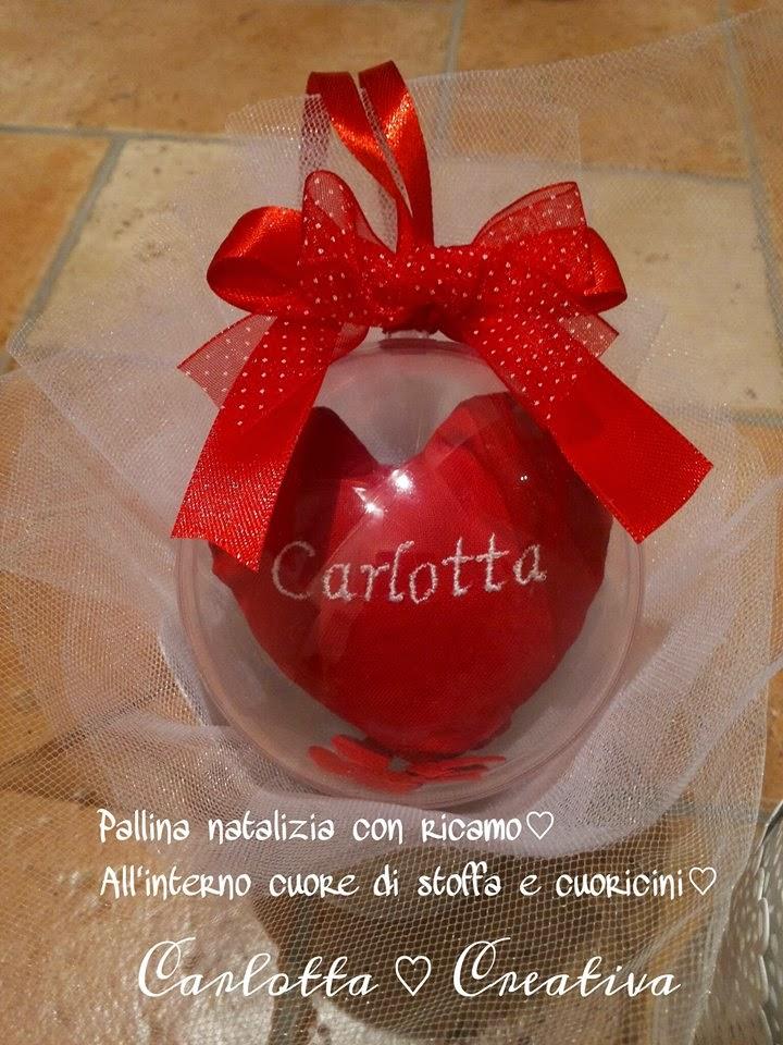 Carlotta creativa for Decorazioni natalizie personalizzate