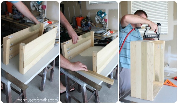 building a wooden crate