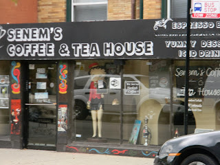 Senem's Coffee & Tea house, N Broadway, Chicago