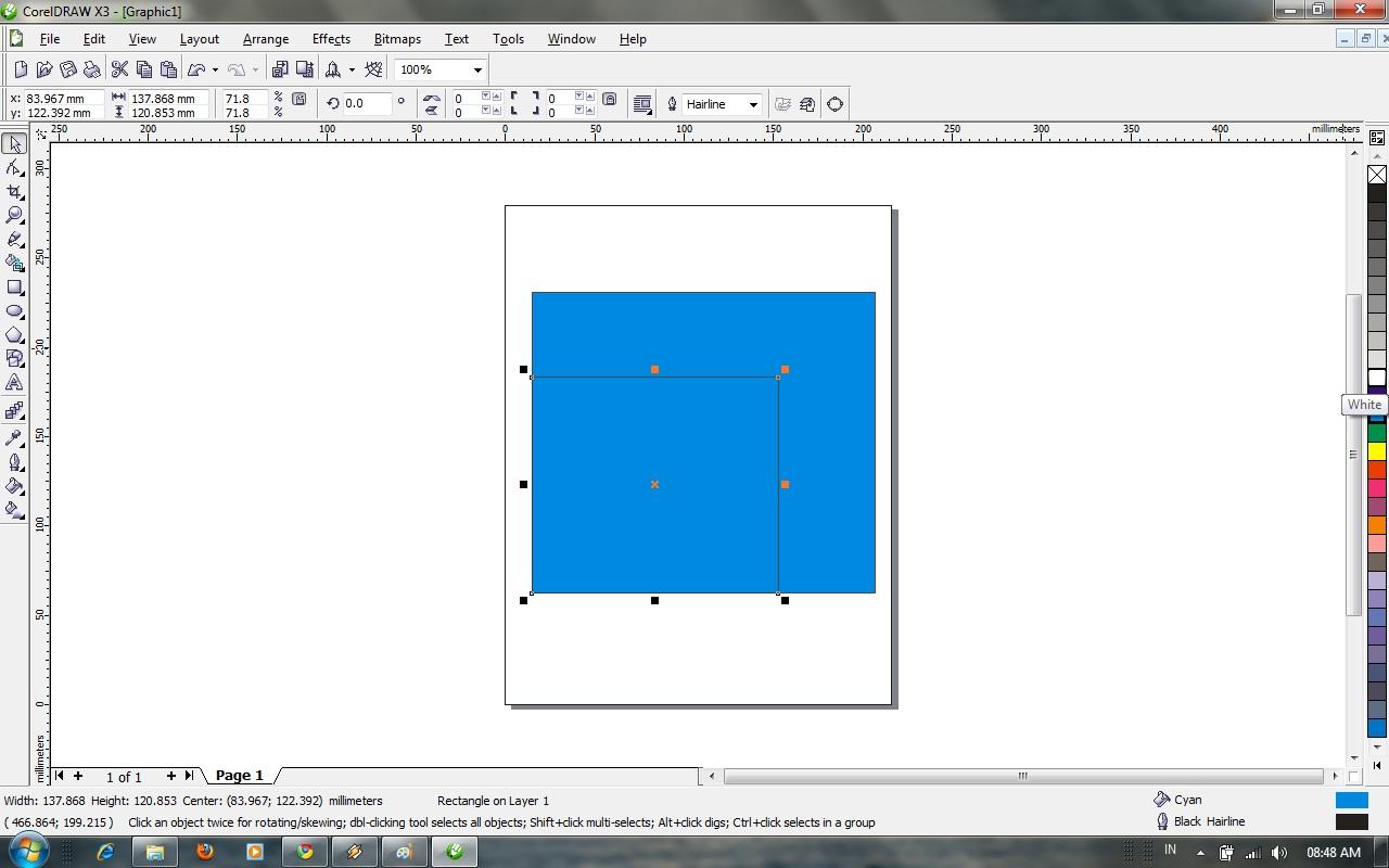 setelah itu klik kanan lalu Copy setelah itu paste ,,,,,tarik garis ...