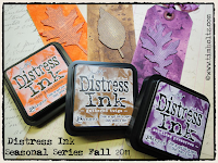 Tim Holtz Ink and Tags