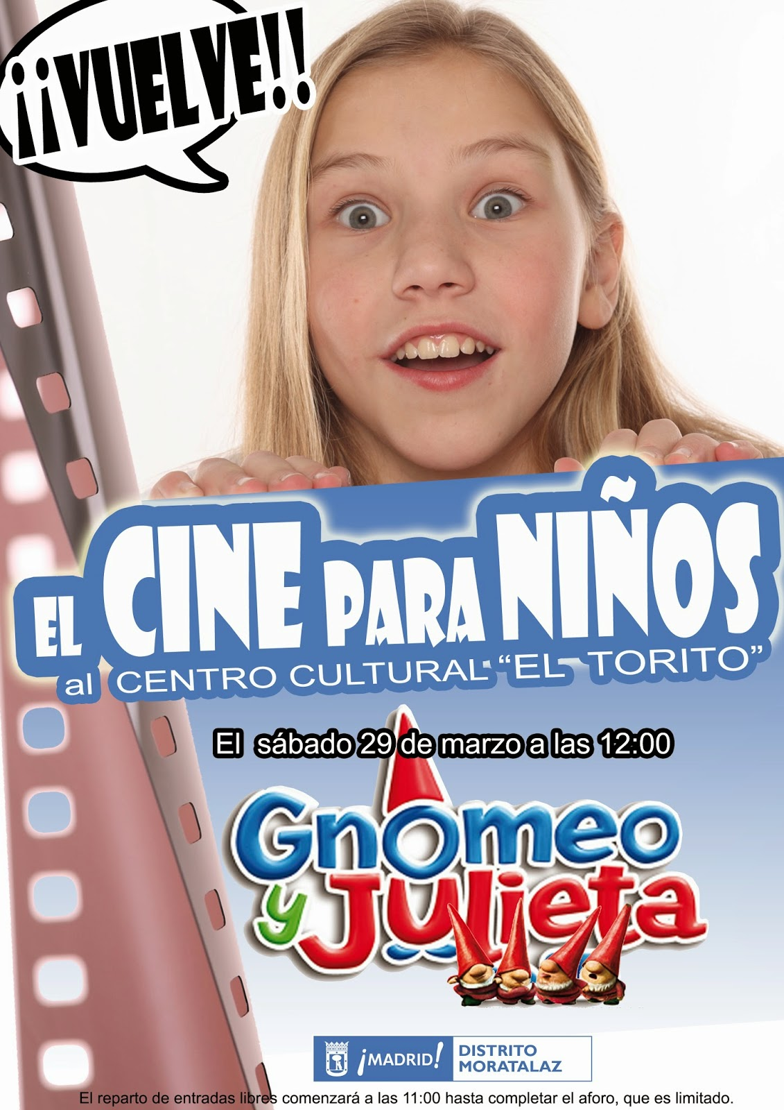 "Cartel "" Gnomeo y Julieta"""