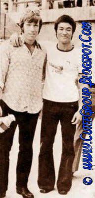 Chuck Norris & Bruce Lee