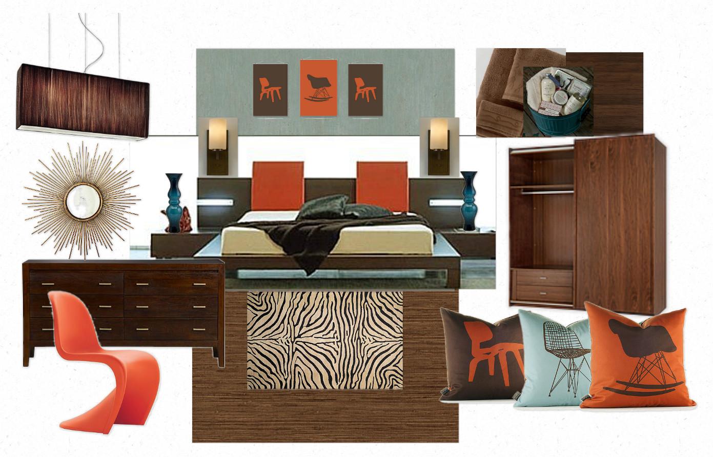 Interior design chatter moodboard monday retro hotel room for Retro design hotel