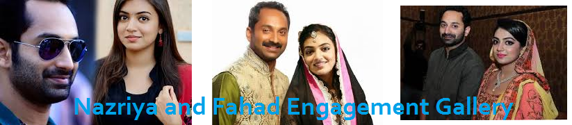 Nazriya and Fahad Engagement‎ Gallery