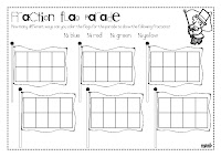 math worksheet : the lesson cloud fraction flags freebie : Fraction Flags Worksheet