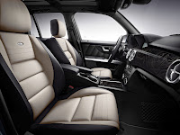 New 2012 Mercedes Benz GLK X204 FaceLift Interior Seats Official High Resolution Photo