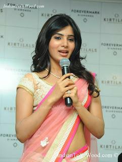 Samantha Hot Saree Photos