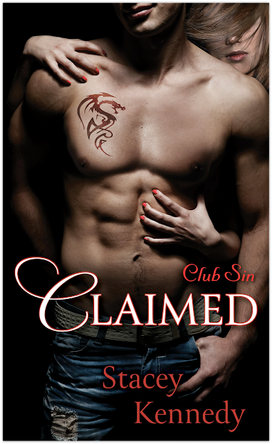 Cover Reveal & Giveaway: Claimed by Stacey Kennedy