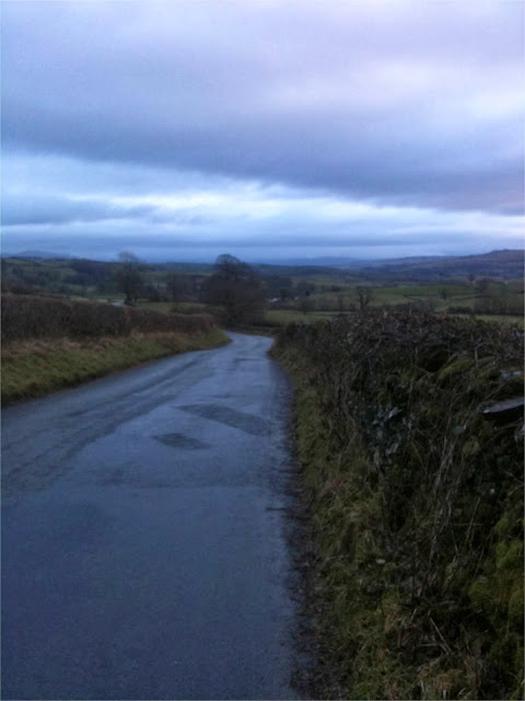 The road to Bowston, Cumbria