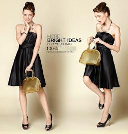 Glittering Gold Bag