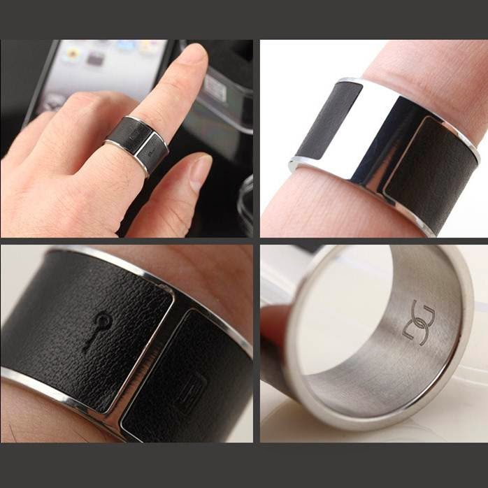 Anillo inteligente NFC teléfonos móviles