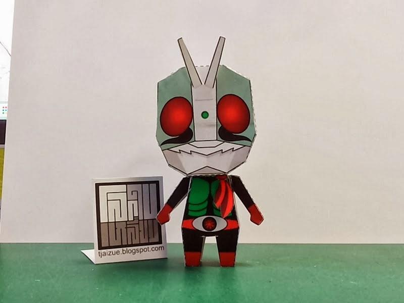 Kamen Rider Nigo Papercraft Toy