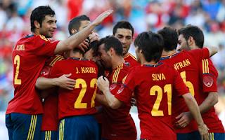أهداف مباراة اسبانيا و صربيا 2-0 في مباراة ودية 26-5-2012
