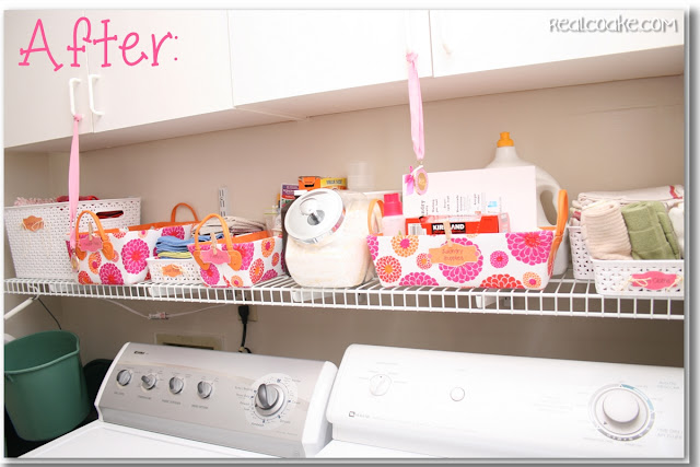 Storage and Organization ideas for the Laundry Room