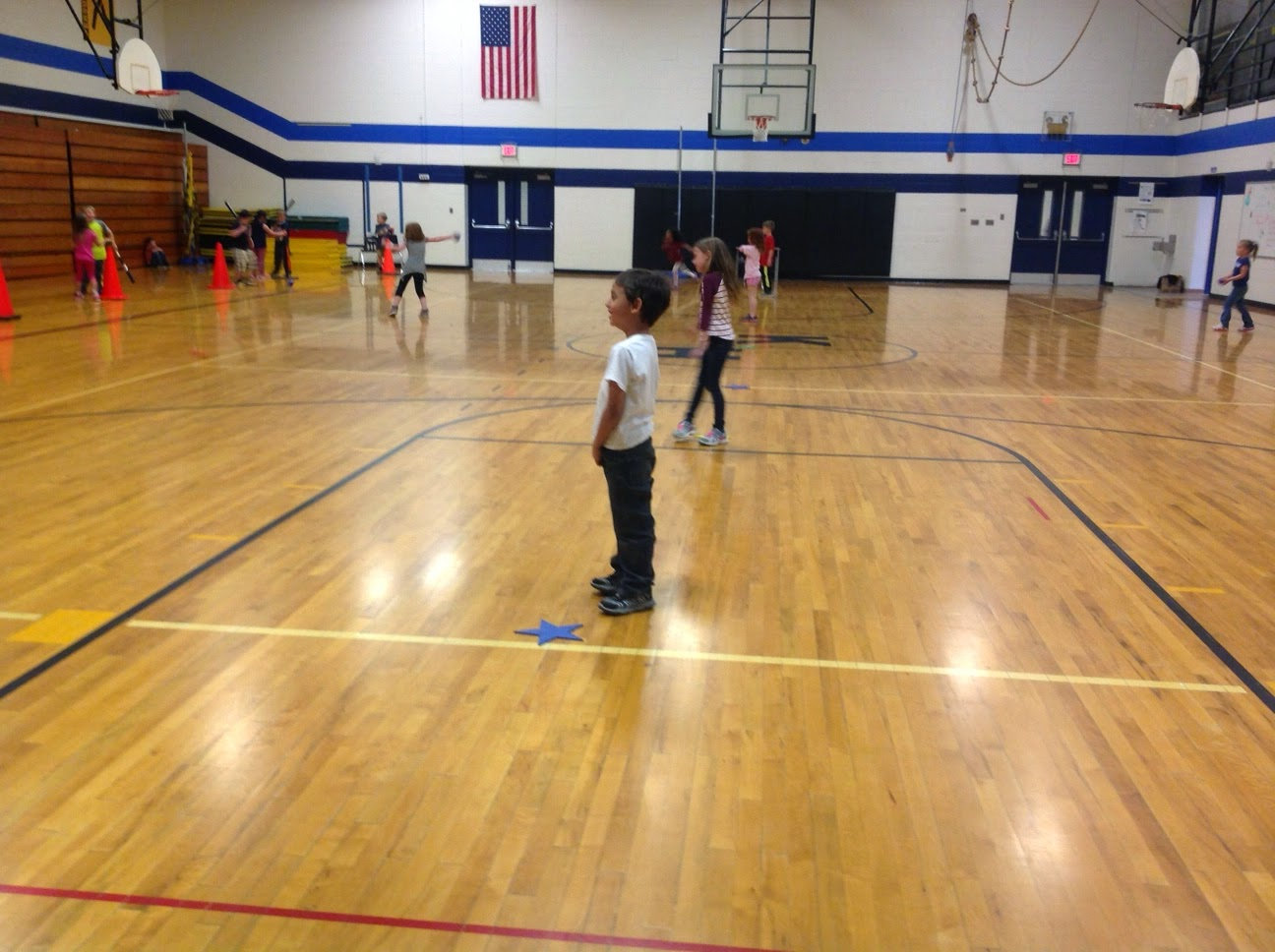 batting practice elementary physical education