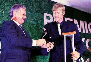 Oriente Petrolero - Alejandro Schiapparelli - Premio Mayor - Club Oriente Petrolero