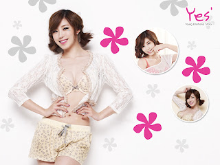 Secret Hyosung 전효성 YES Underwear wallpaper