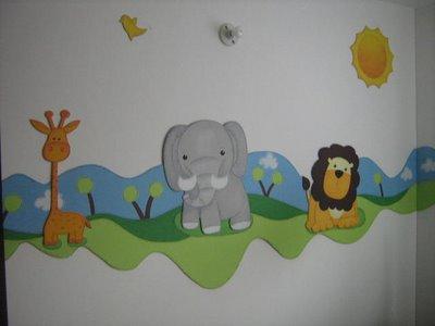 cenefas habitaciones infantiles: