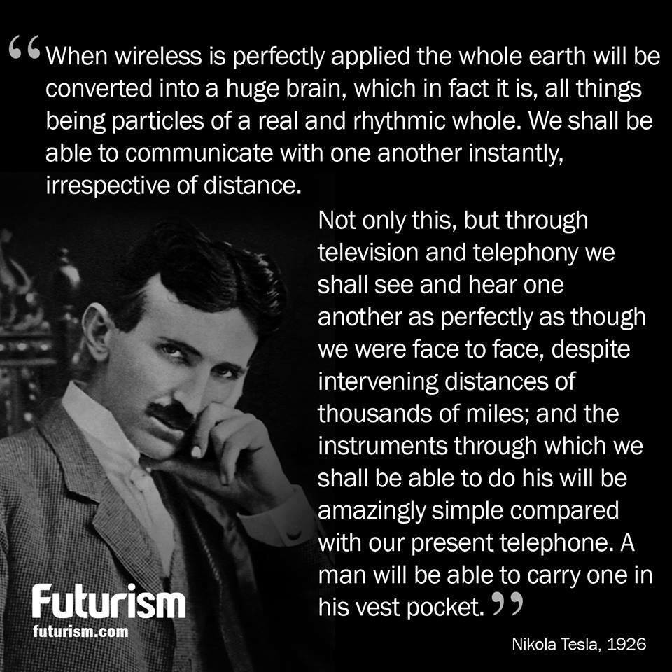 Nikola Tesla Quotes Future Www Pixshark Com Images Galleries With A Bite