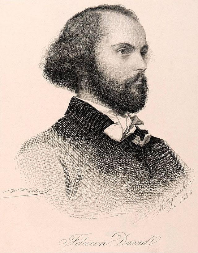 Felicien David in 1858