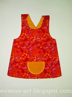 reversible baby dress 1    wesens-art.blogspot.com