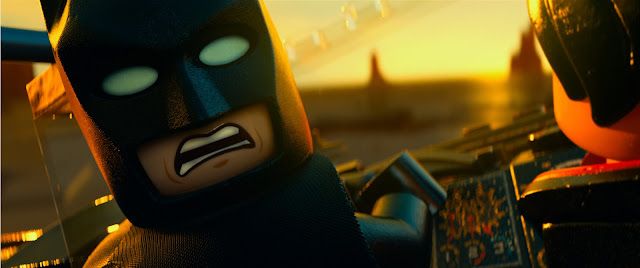 The Lego Movie official movie still Batman lego