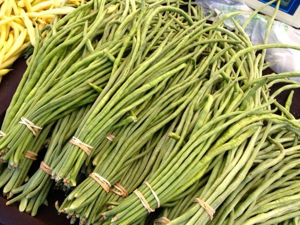 NowThisLife.com - Elk Grove Farmer's Market -  long beans