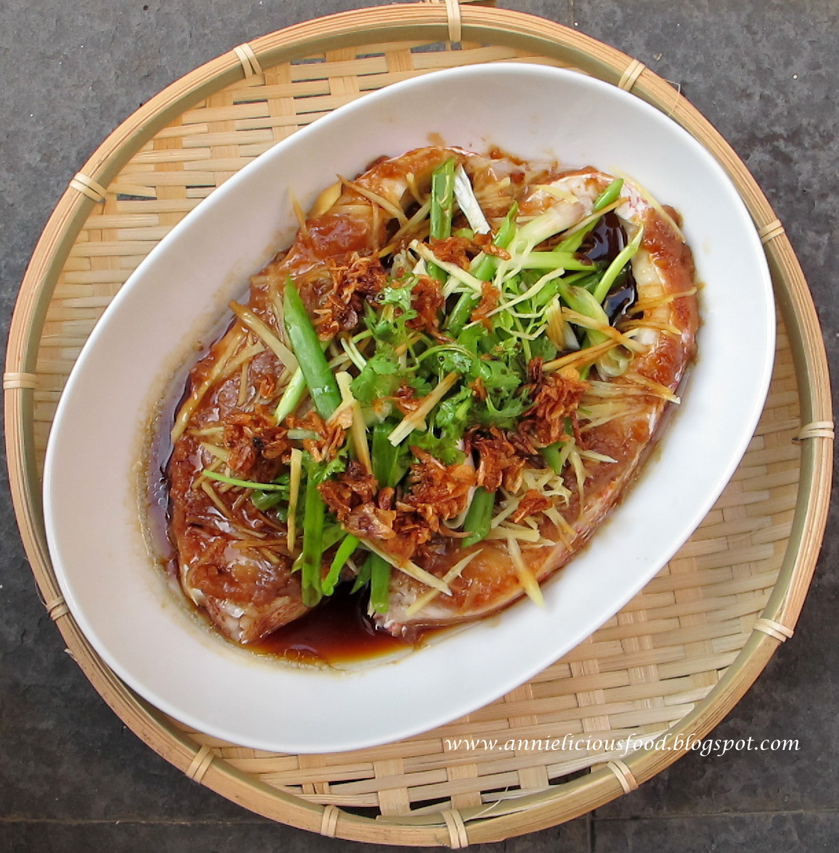 Annielicious food steamed fish with fermented bean paste it could bring out the sweetness of the fish fresh tasting fish like red snapper or threadfin works well with taucheo as they taste milder forumfinder Choice Image