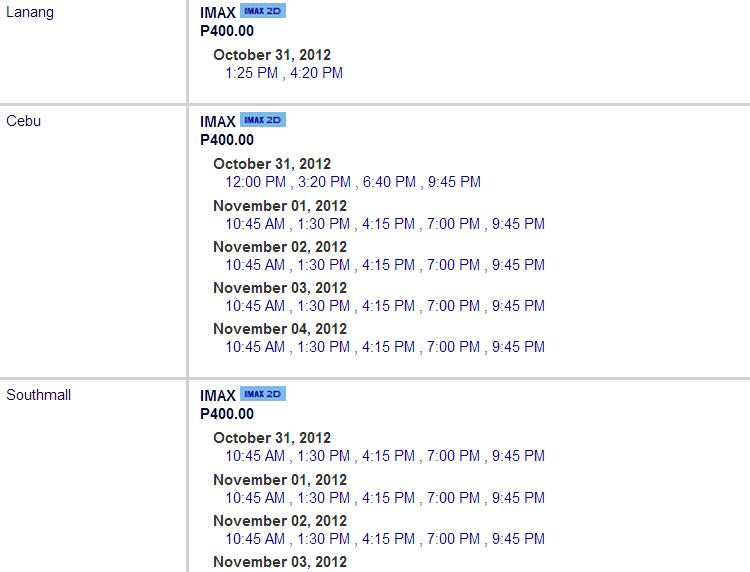sm cinema movie schedule