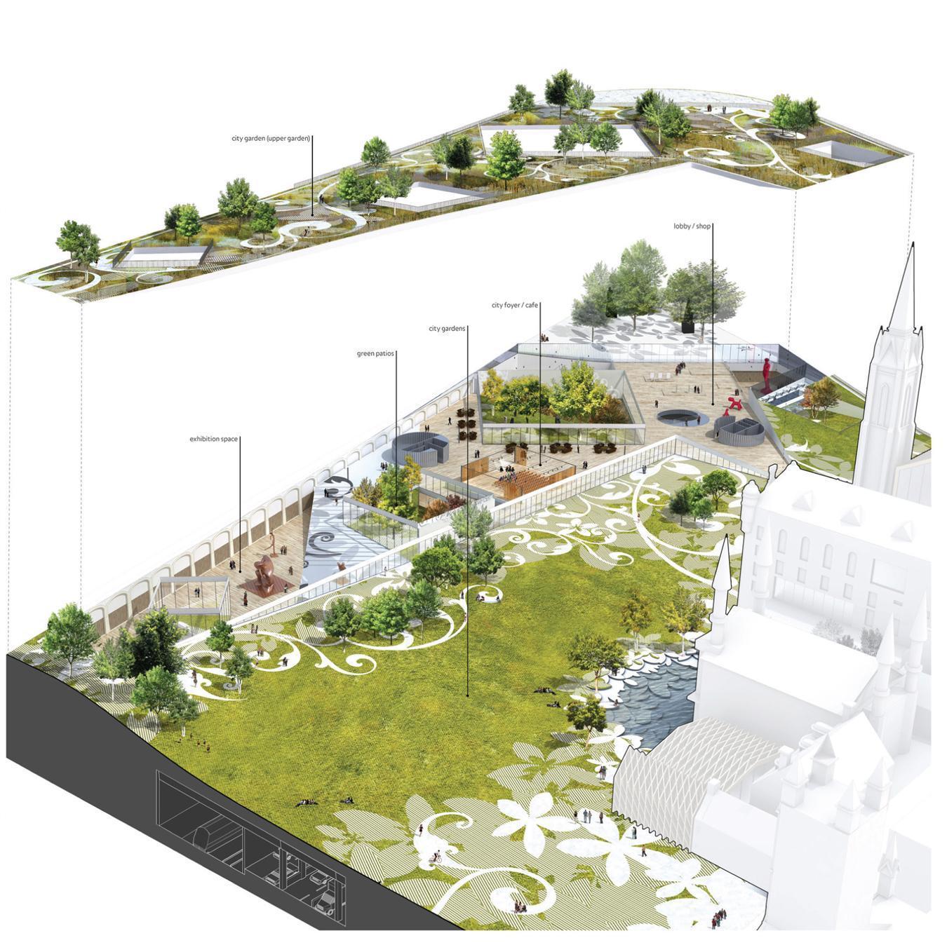 A f a s i a mecanoo cooper cromar ian white landscape for Landscape architecture